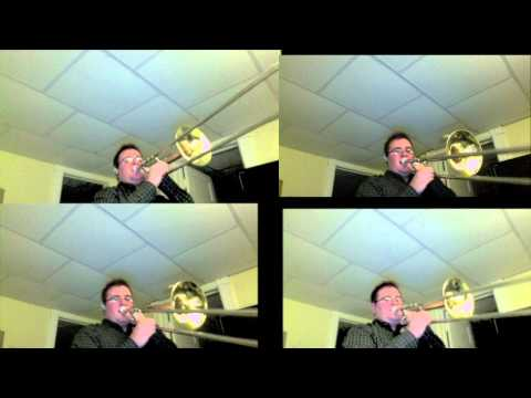 Song of Storms for Four Trombones