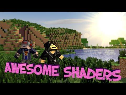 Minecraft Mod Showcase : Unbelievable Shaders Mod