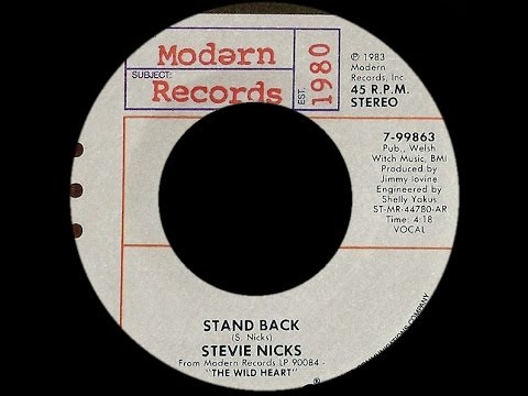 Stevie Nicks ~ Stand Back 1983 Disco Purrfection Version