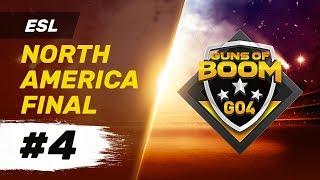 ESL North America Final #4 - GO4 Guns of Boom