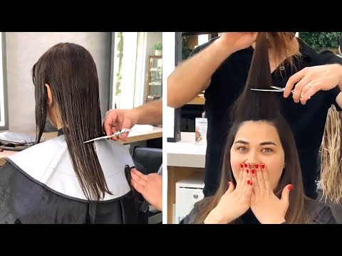 Easy Short Haircuts and Hair Color Transformation | Best Women Hairstyle Tutorials | Top Hairstyle