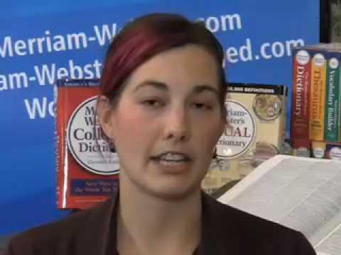 Merriam Webster incontri matrimonio non datazione Recap 16