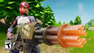 New MINIGUN Gold Weapon Update Launching Tomorrow // Top Fortnite Player // Fortnite: Battle Royale