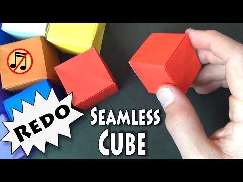 Origami Seamless Cube Redo 2