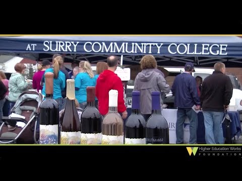 Fruit of the vine at Surry Community College