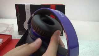 Monster Beats By Dr Dre Puple Bluetooth Wireless Solo HD Headphone