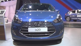Hyundai ix20 1.6 125 Executive (2017) Exterior and Interior