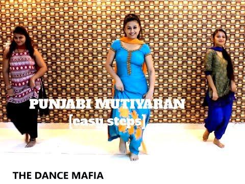 Punjabi Mutiyaran Jasmine Sandlas |Giddha | bhangra |easy dance   THE DANCE MAFIA