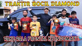 TRAKTIR BOCIL DIAMOND DI INDOMART!!!