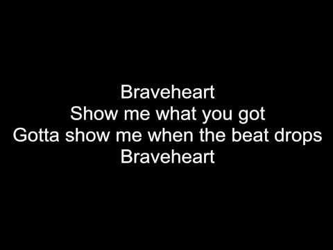 Neon Jungle - Braveheart - Lyrics