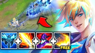 THIS KOREAN AP EZREAL BUILD IS BEING ABUSED! ROOT THEM FOR FREE ULTS - League of Legends