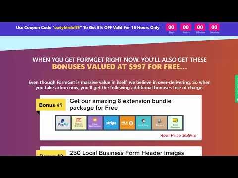 """FormGet"" + $107 Prize Contest"