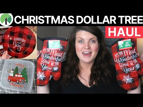 Dollar Tree Haul - Christmas 2019 | Buffalo Check & Other Can't Miss Items!