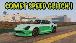 GTA 5 Online: Comet Speed Glitch - Fastest Car In GTA 5!!