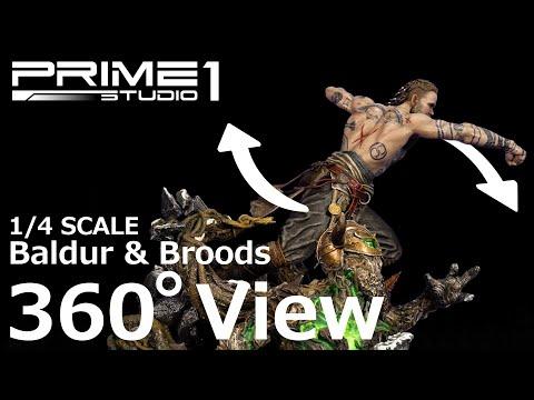 God of War: in arrivo una statua di Baldur per gamer facoltosi