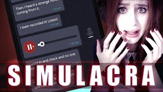 SIMULACRA #10 - DIESE SPRACHNACHRICHT IST CREEPY AF ● Let