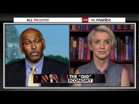 All In with Chris Hayes and Hillary Clinton's economic populism