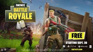 NEWS: FORTNITE BATTLE ROYALE FREE TO PLAY VS PLAYERUNKNOWN'S BATTLEGROUNDS !!!