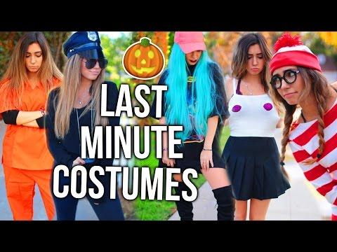 15 Last-Minute Halloween Costume Ideas!