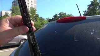 Сгнила щетка на пятой двери авто