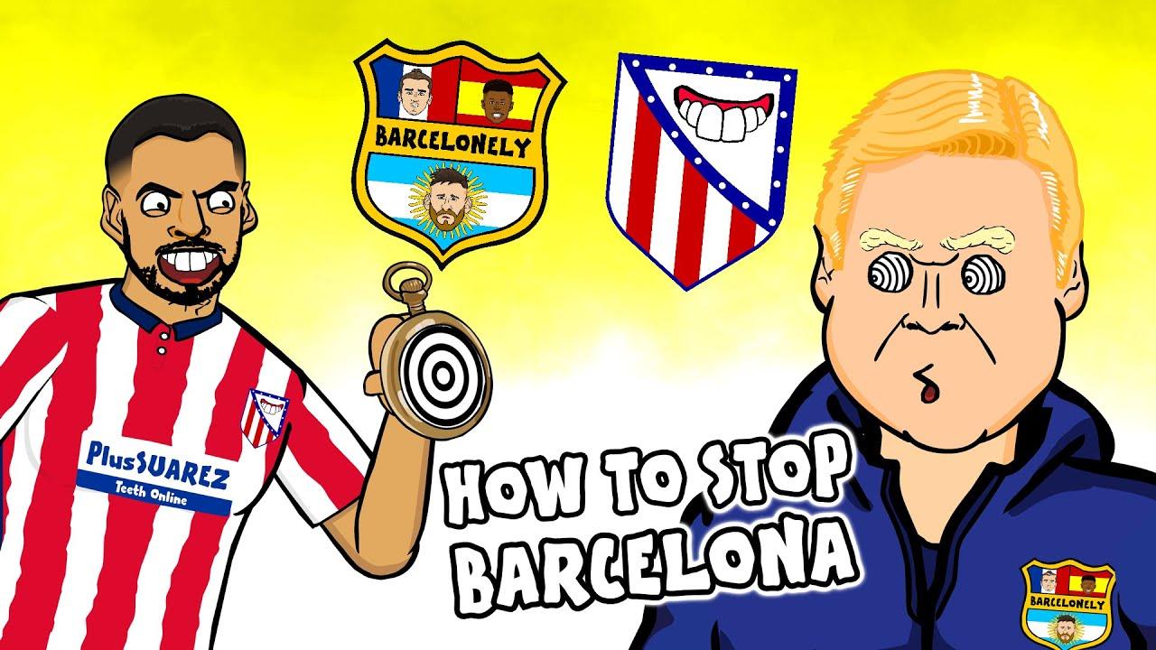 🤪Suarez hypnotizes Koeman!🤪 (Atletico Madrid vs Barcelona 2021)