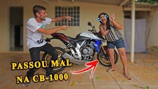 MINHA MÃE PASSOU MAL CB 1000R
