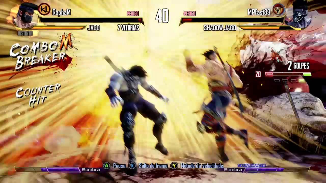 Longest Ultra Combo 216 Hits_ Jago Killer Instinct - Video Dailymotion