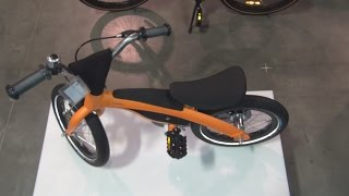 BMW Kids Bike NF II Orange Exterior and Interior in 3D(BMW Kids Bike NFII seen in 3D. Frame height is 36 cm. Weight with pedal unit is 7.4 kg. Seat height is 38 to 46 cm. Maximum load - 50 kg. Colour is orange., 2015-05-17T09:09:51.000Z)