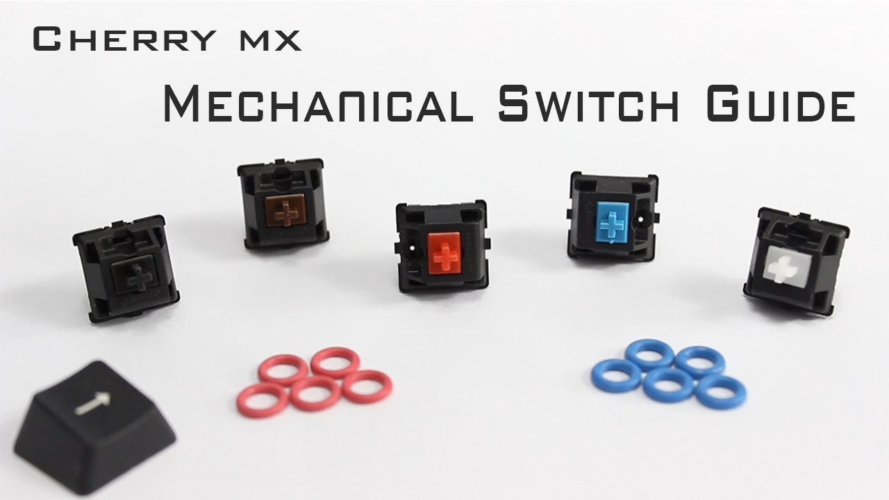 Cherry Mx Mechanical Switch Guide Youtube