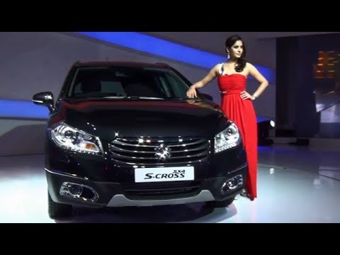 Maruti SX4 S-Cross Compact Review From Auto Expo 2014