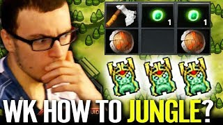 NEW Best Meta JUNGLE Wraith King - Miracle Faster than Outside Dota 2 gameplay