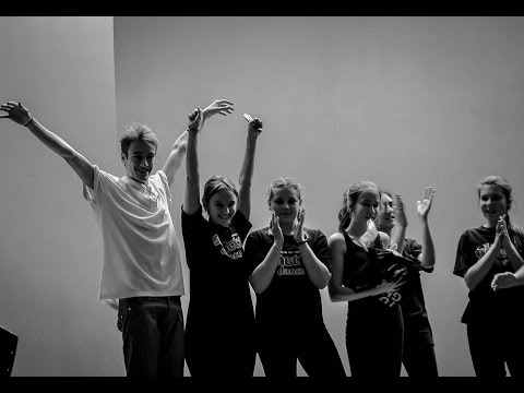 Rusya & Peppi Group: Hip-hop Beginners // Ghetto Dance Academy Concert 2015