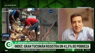 INDEC: Gran Tucumán registra un 41,5% de pobreza