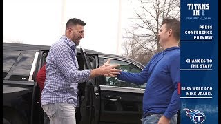 Titans in 2: Busy Week for Mike Vrabel