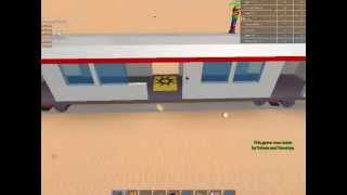 IM SO FREKIN EXPERT| Roblox TRAIN WAR