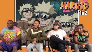 Naruto Episodes 1  2 REACTION/REVIEW