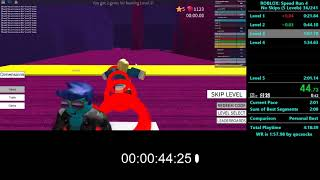 Roblox: Speed Run 4 PB 2:01:10