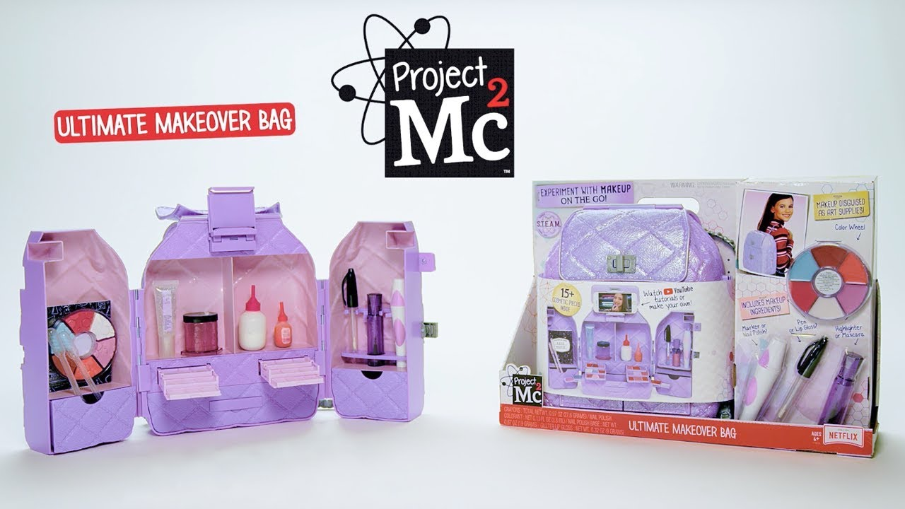 Project Mc Ultimate Makeover Bag 30 Commercial Diy Cosmetics