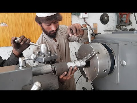 Young Guys Have Incredible Machining Skills to Repair Tipper Truck Hydraulic Jack Cylinder Pins