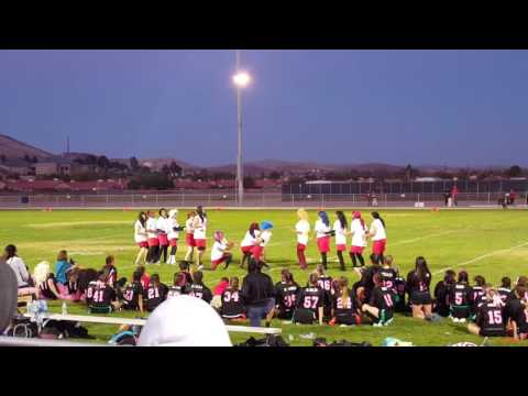 Rosamond High School 2016 Powder Puff Halftime Show