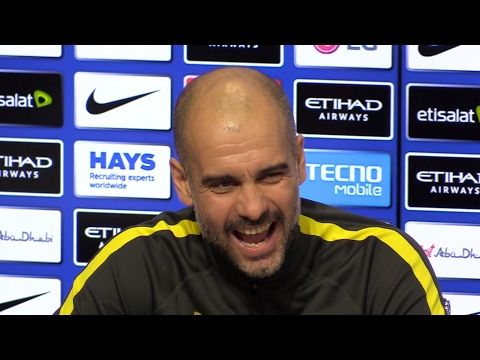 Pep Guardiola Pre-Match Press Conference - Bournemouth v Manchester City - Embargo Extras