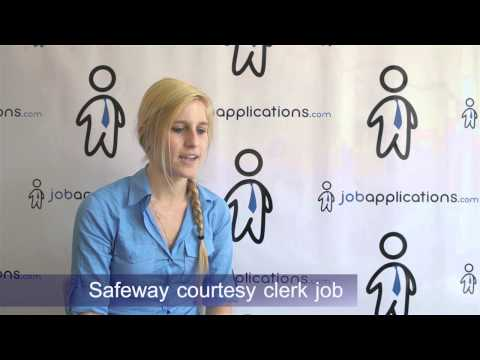 Safeway Interview - Checker / Courtesy Clerk