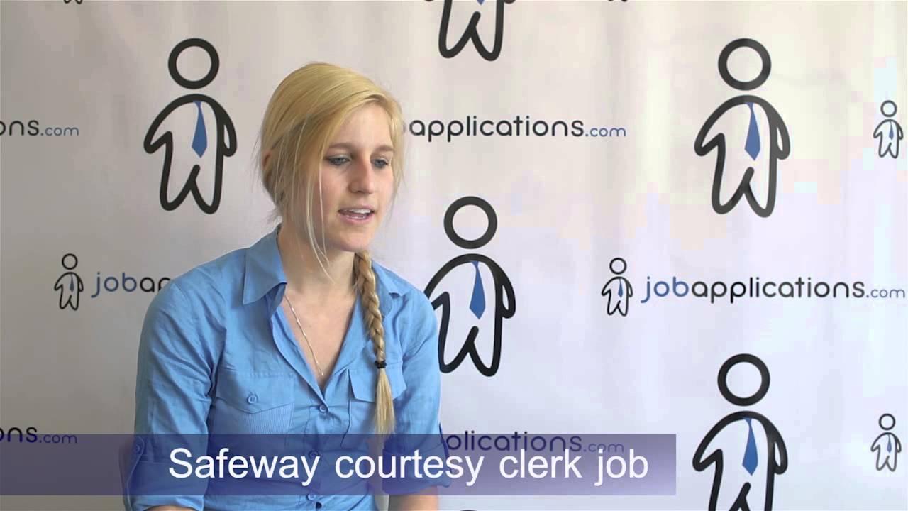 Safeway Interview   Checker / Courtesy Clerk   YouTube  Courtesy Clerk