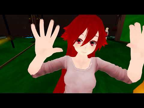 VRChat Moments - Cute VR Anime Girl making faces: Virtual Reality