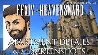 FFXIV - Patch 3.4 Apartment Housing Details & New Patch Screenshots