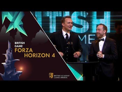 Forza Horizon 4 wins British Game Award | BAFTA Games Awards 2019 thumbnail