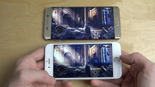 Modern Combat 5 iPhone 6S vs. Samsung Galaxy S6 Edge Plus Gameplay - Review!