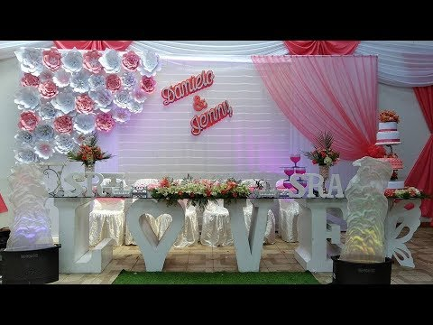 2018 decoracion matrimonio youtube for Decoracion para casamiento