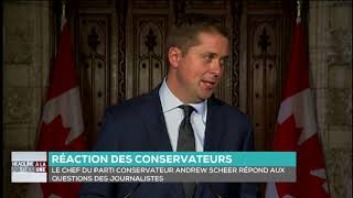 Andrew Scheer comments on ethics violations by another Trudeau cabinet minister