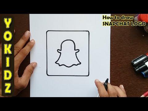 how-to-draw-snapchat-logo